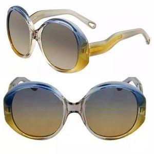 Chloe Women's Oversized Oval Sunglasses   CE732S